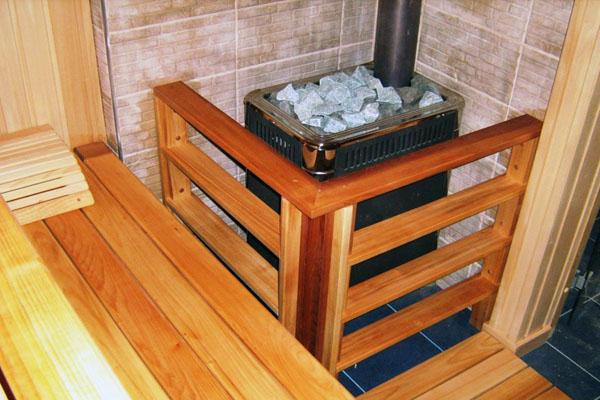 Прямоугольный профиль говорит нам, что печь собрана из листовой стали.