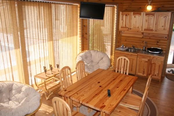 Результат проекта – многофункциональный домик с баней.