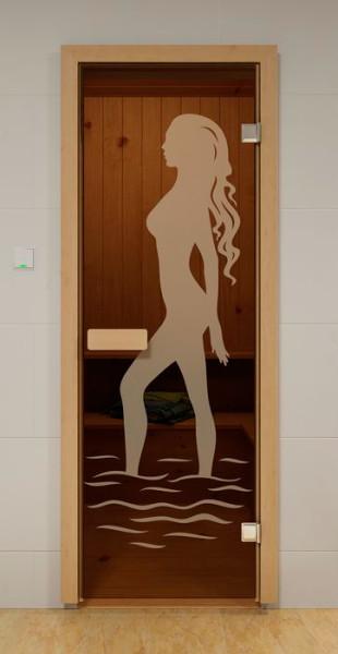Рисунки на тему воды и моря актуальны даже в бане