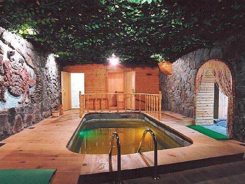 Сауна с бассейном – мечта!