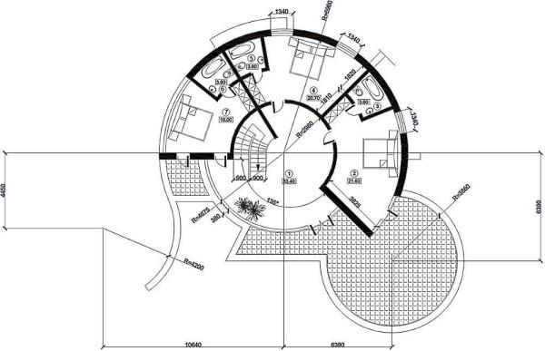 Схема-чертёж второго этажа