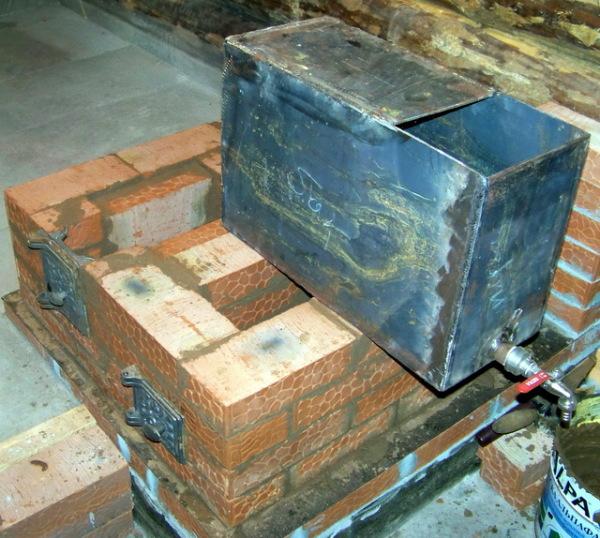 Сооружение печи для бани - ответственный процесс