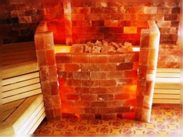Создание интерьера с помощью гималайской соли