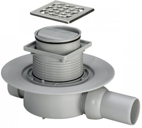 Специальный слив, который предполагает не только центральный отвод воды, но и имеет окантовочную грань для стыковки с трапами