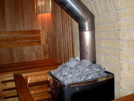Стальные печи излучают тепло достаточно интенсивно, поэтому требуют некоторых мер по защите окружающих конструкций.