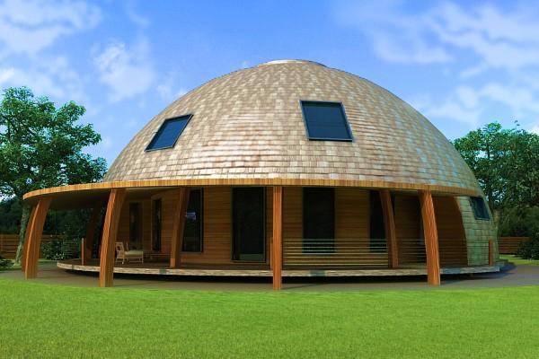 Стратодезический купол.