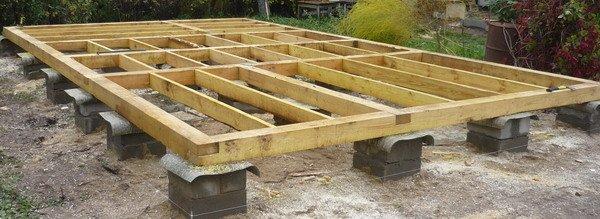 Свайный фундамент является самым оптимальным решением при создании небольших конструкций