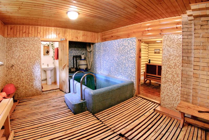 Гостевой дом и баня своими руками