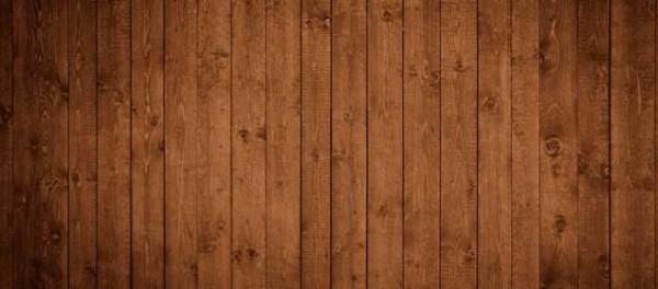 Тёмная древесина.