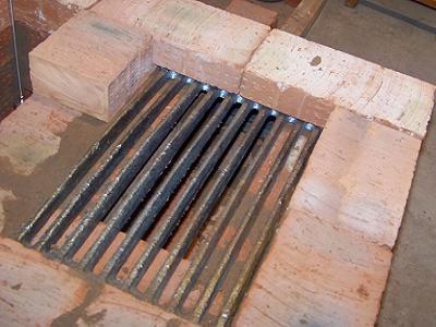 Укладка колосниковой решетки