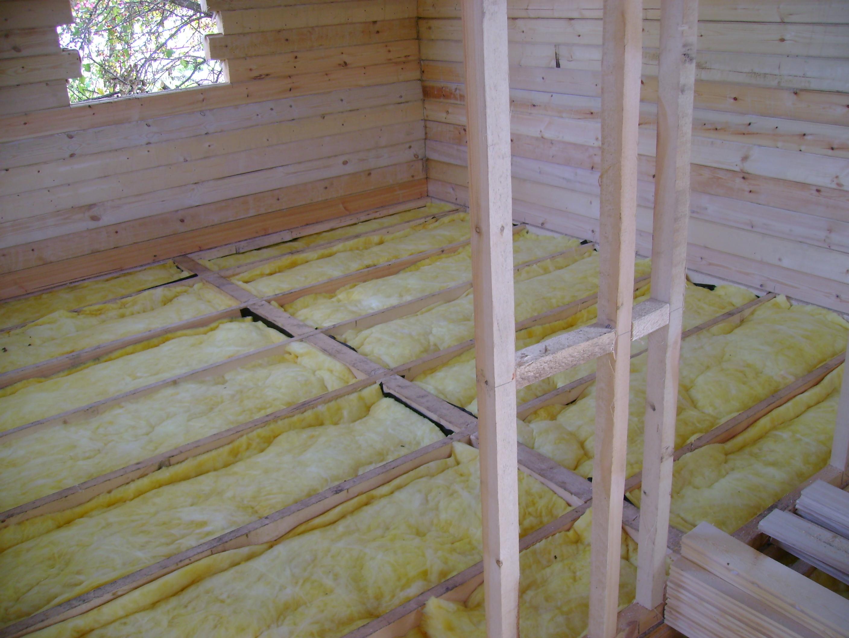 Деревянные полы с утеплением своими руками