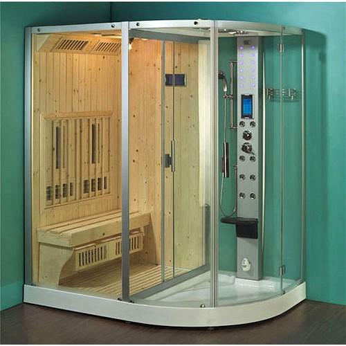 В более продвинутом варианте инфракрасная сауна – целый оздоровительный комплекс с системой управления и настройки