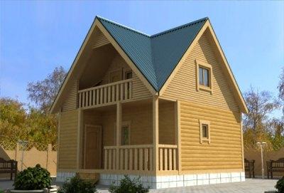 В мансарде можно устроить бильярдную или комнату для гостей