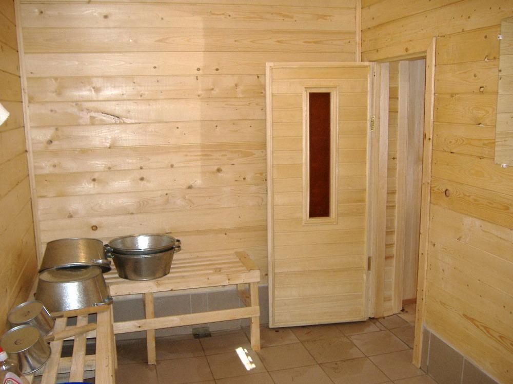 Пол в деревянной бане в помывочной своими руками