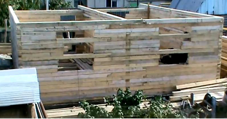 Ютуб видео строительство дома от и до 120