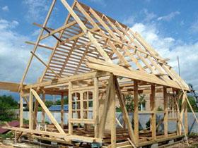 Вариант изготовления крыши под металлическую черепицу