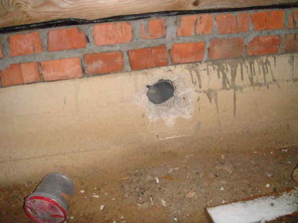 Вентиляция через цоколь и подпольное пространство – верное решение.