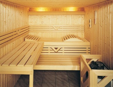 Внутренняя отделка парилки в каркасной бане