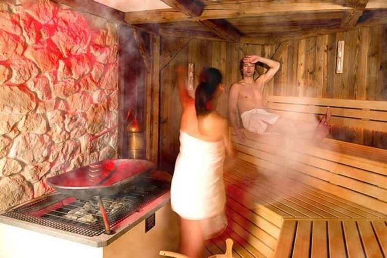 мытье женщин в бане - 7