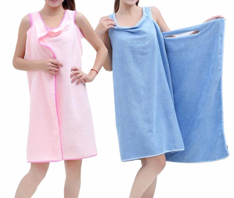 Простыня, халат или юбка-полотенце