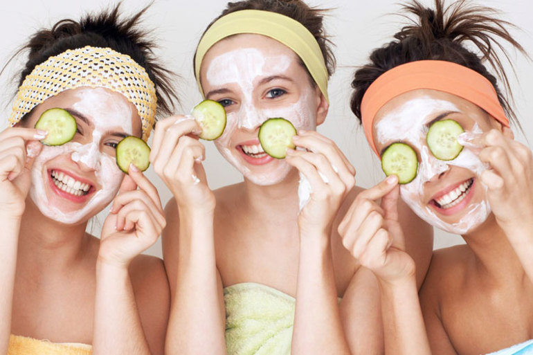 Как избавится от морщин в бане при помощи масок
