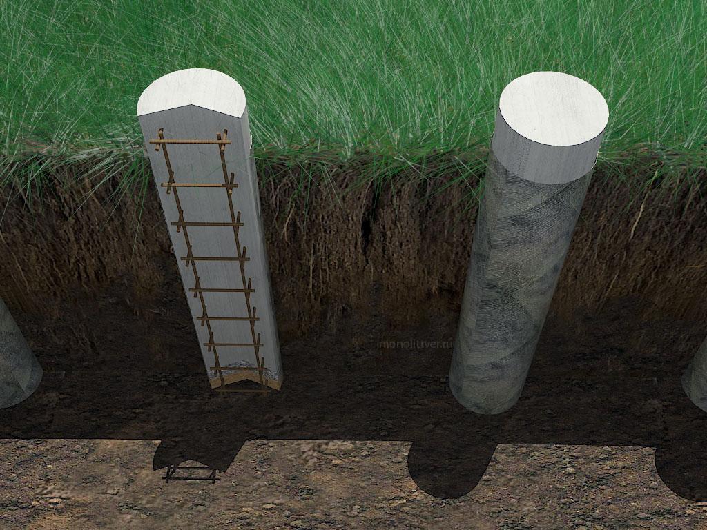 цементные столбы