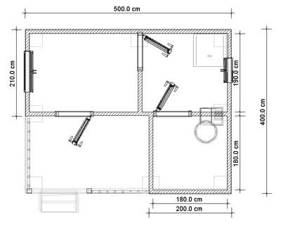 Баня 3 на 5 может, конечно, иметь и мансарду, но целесообразно ли это, учитывая общий недостаток в площади (проект «С»)
