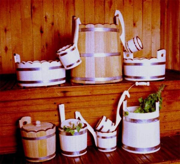 Деревянная посуда для парной – вещь незаменимая.