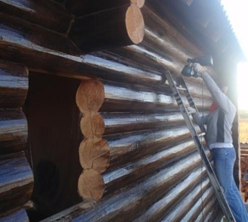 Деревянное строение, обработанное антисептиками, прослужит значительно дольше!