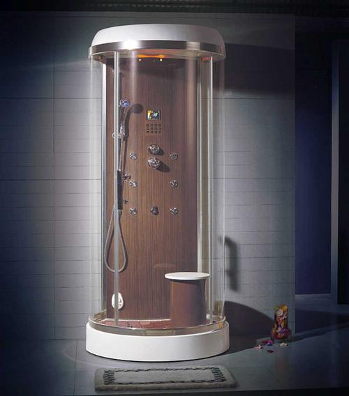 Душевая кабина-сауна со встроенным парогенератором