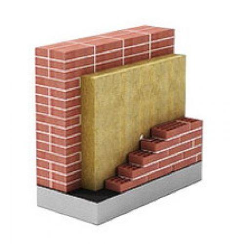 Двойная стена со слоем утеплителя