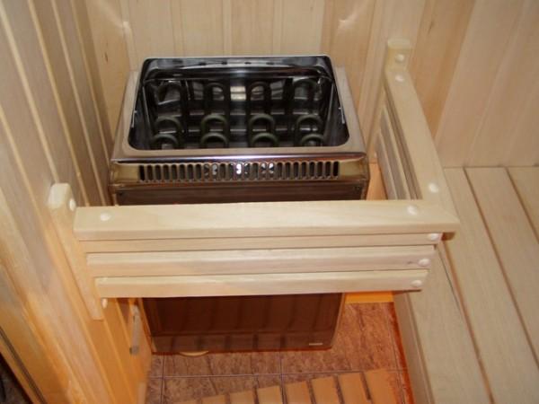 Электрическая печь для отопления парильни