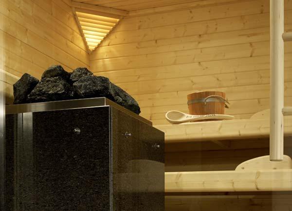 Электрический котел для сауны с каменкой