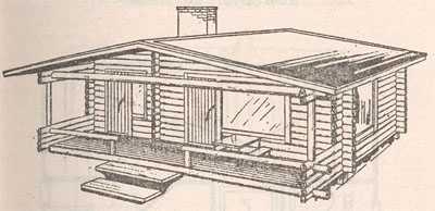 Эскиз будущего здания