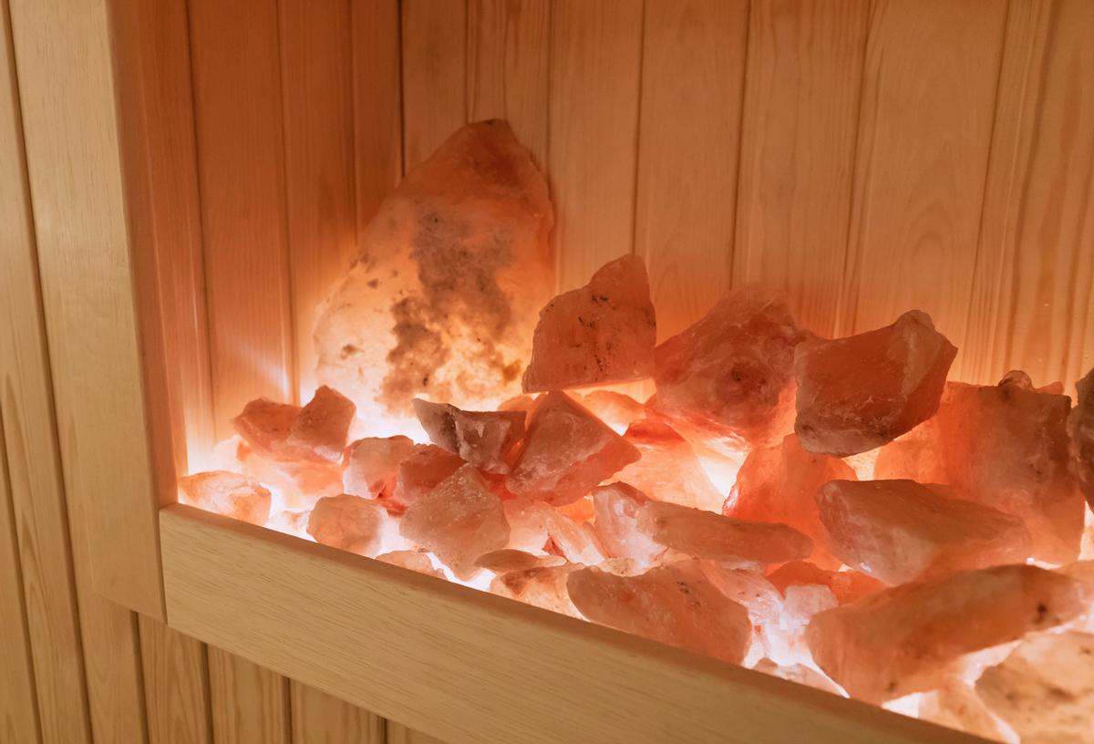 Солевые камни в бане
