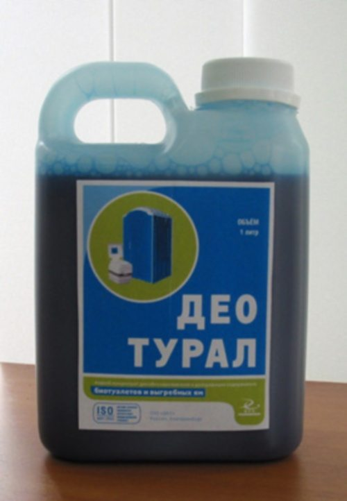 Химический препарат для устранения запаха в уличном туалете