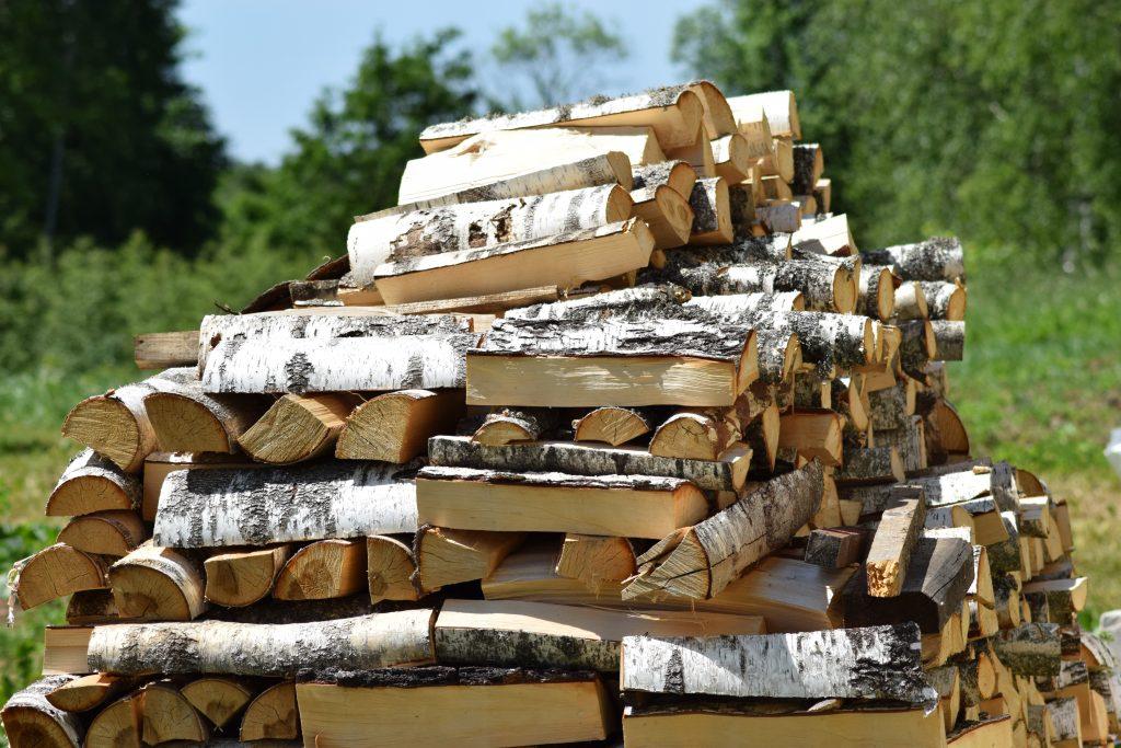 Картинки, поздравление в картинке с дровами