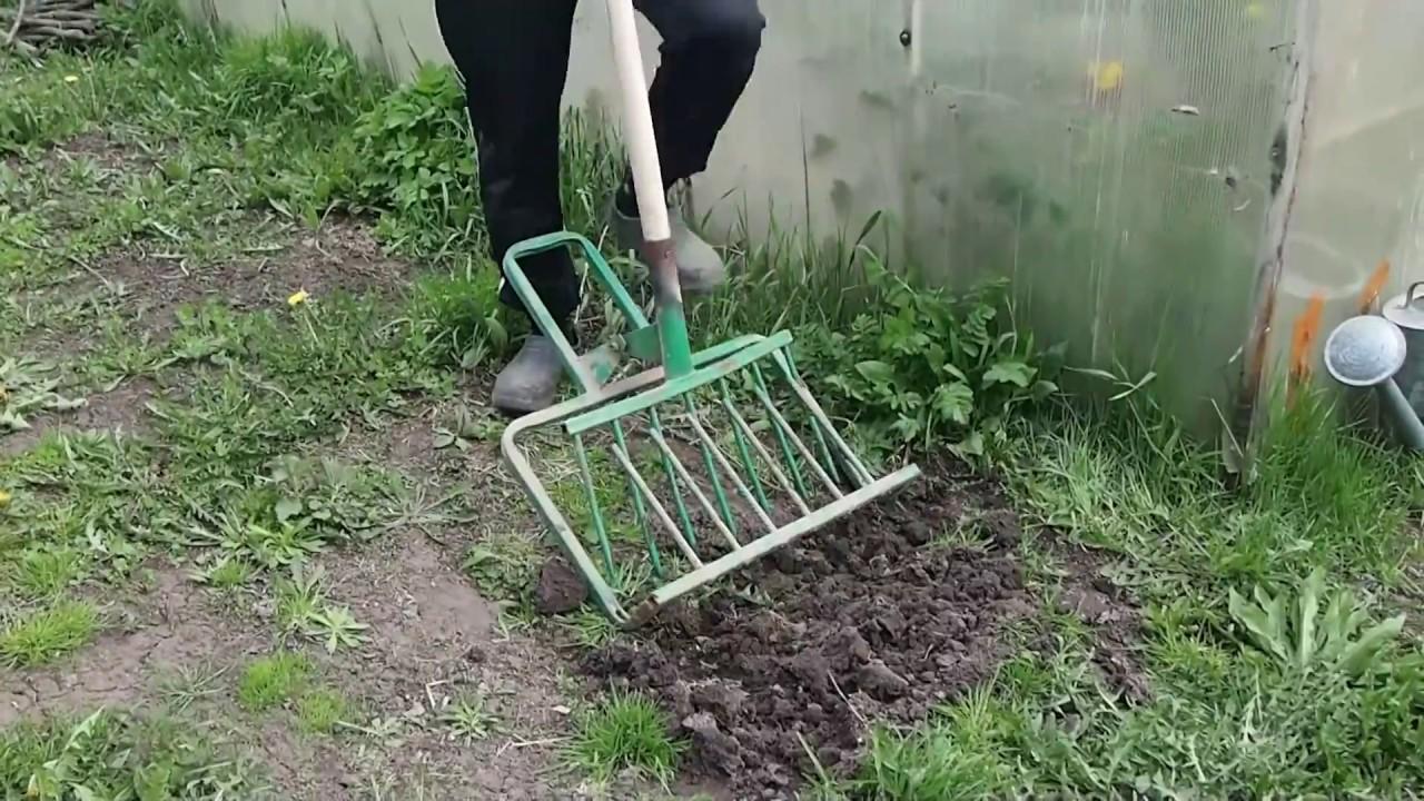Рыхлитель землекоп поможет за час перекопать три сотки земли