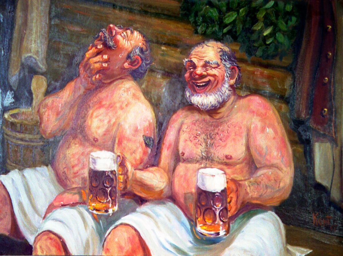 Особенно банник не любит, когда пьют пиво и водку.