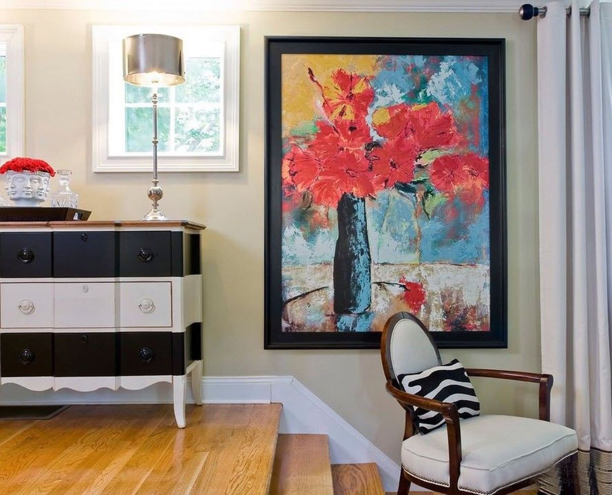 Где в вашем доме стоит повесить картины?