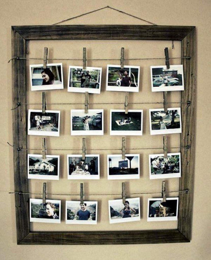 Советы для желающих красиво украсить свою стену с помощью обычных фотографий.