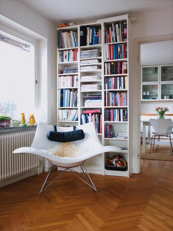 Секреты хранения книг в вашем интерьере.
