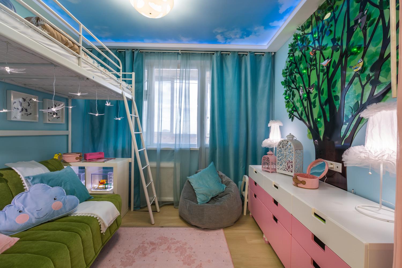Ремонт детской комнаты без будущего