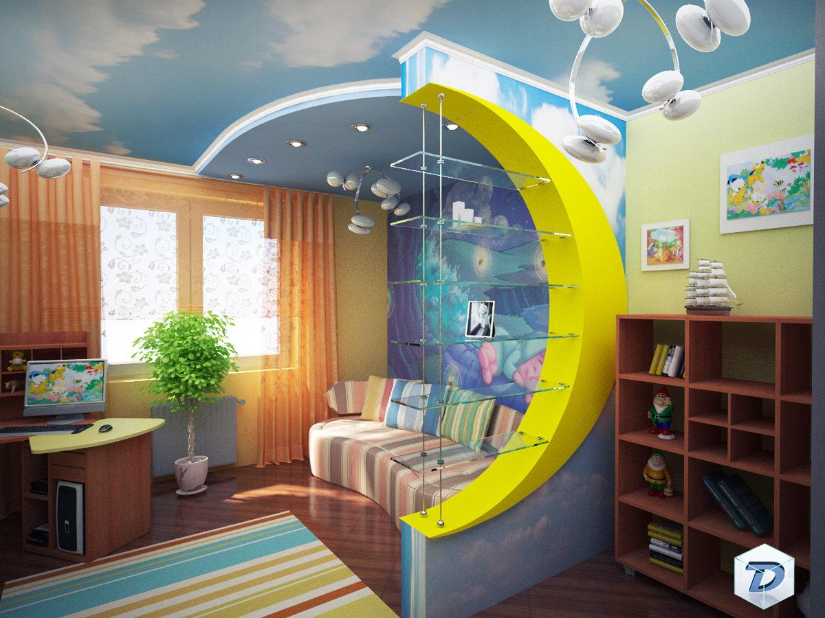 Небезопасная среда в детской комнате
