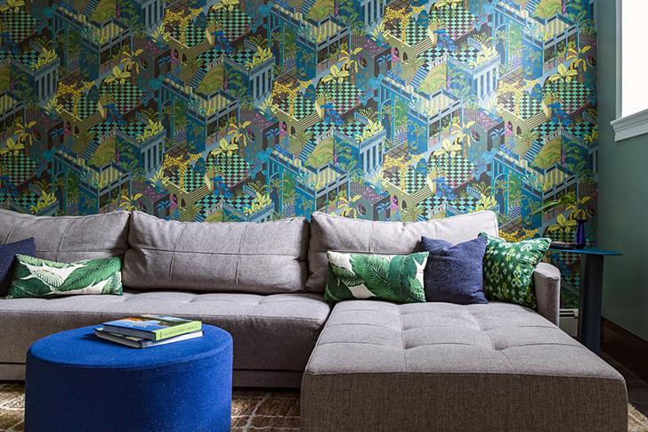 Цветовая гамма и модульная мебель трансформирует и меняет пространство в зависимости от сборки
