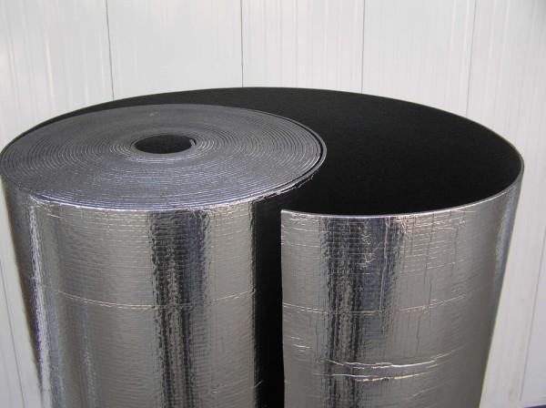 Фольгированный материал для теплоизоляции