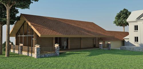 Фото бани с гаражом под одной крышей