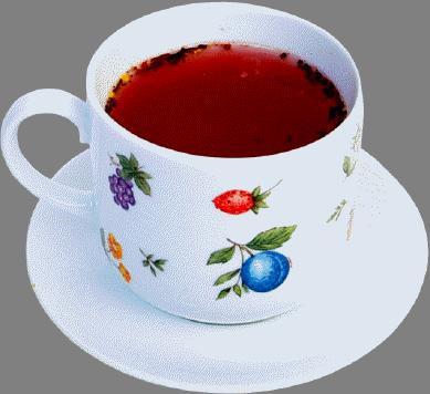 Фото безумно вкусного чая из свежей земляники и плодов шиповника