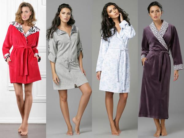 Фото интересных моделей халатов