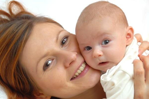 Фото крепкого малыша, родившегося у мамы, которая пользовалась баней.